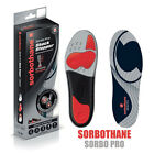 Sorbothane Sorbo Pro Total Control Insoles Foot Shock Absorber Impact Protection