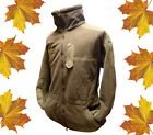 Windproof & Water-repellent FLEECE JACKET - British Army - S M L - Grade 1