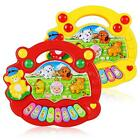 1pcs Cute Baby Music Developmental Animal Farm Piano Sound Educational Toy BDRG