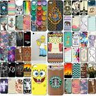 Ultra Thin For Apple iPhone 4 5 6 Plus Cute Hard Design Pattern Back Case Cover