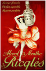 Quality POSTER.Wine Ricqles in French.Flower Dance.Decor.Interior Design.i293