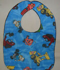 Bib Handmade Baby Cotton and Flannel Snap Closure Unisex