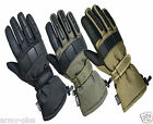 Military Police Cold Weather Thinsulate Waterproof Lined Patrol Mechanics Gloves