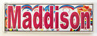 Personalised - from M to P -Door / Room Name Plaque / Tile / Magnet / Frame