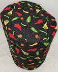 Hot Peppers Food Processor Cover (2 Sizes Available)
