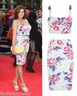 Womens Bralet Set Jessica Ladies Crop Top Roses Print Bodycon Midi Pencil Skirt
