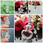 Hot Sale Mini Wishing Bottle Pendant Charms Necklace Pendant Chains Findings