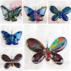 33x45mm Handmade Pendant Dichroic Lampwork Glass Butterfly Bead For Necklace New