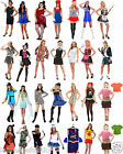 New Ladies Womens Complete Outfit Fancy Dress Costume