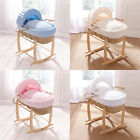 Clair de Lune Marshmallow Palm Moses Basket