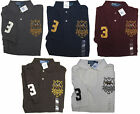 Polo Ralph Lauren Mens Big Match Pony Equestrian Cup Classic Fit Mesh Polo Shirt