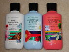 BATH & BODY WORKS BODY LOTION 8 OZ. SINGLES SPRING, EVERYDAY, FRUITY NEW *CHOOSE