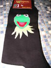 KERMIT THE FROG THE MUPPETS MENS BLUE OR BLACK SOCKS SIZE 6 T0 11  BRAND NEW!