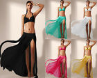 41168-Ladies Sexy Sheer Mesh Panelled Maxi Skirt Cool Beachwear Cover Up-UK 8-12