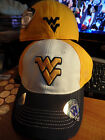 West Virginia Mountaineers NCAA T Shirt Jock Hat Cap Morgantown University WVU