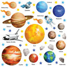 Planet Wall Stickers Solar System Wall Stickers Space Wall Stickers SSYS 02