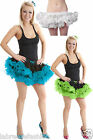 New Ladies Women's 2 Layer Short Ruffle Tutu Skirt Fancy Dress