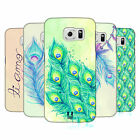 HEAD CASE DESIGNS PEACOCK FEATHERS BACK CASE FOR SAMSUNG PHONES 1