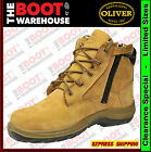Oliver 34662 Work Boot. Steel Cap. Zip-Side.  OLD STYLE - LIMITED  SIZES  LEFT!