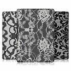 HEAD CASE DESIGNS BLACK LACE HARD BACK CASE FOR APPLE iPAD