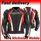 RST CPXC SPORT 1722 Black Red WATERPROOF ARMOURED SPORTS CUT MOTORCYCLE JACKET