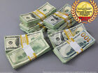 PROP MONEY USED LOOK MIXED $100,000 Blank Filler Pack for Movie, TV, Videos