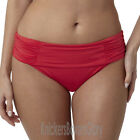 Panache Swimwear Marina Fold Bikini Brief/Bottoms Red SW0837 Select Size