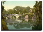 Canvas Print Of cambridge, clare college and bridge