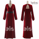 Women Plus Size Long Sleeve Evening Party New Formal Ball Gown Maxi Prom Dress