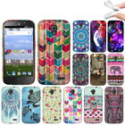 For ZTE Allstar Z818L Stratos Z819C Z819L Various Pattern TPU Soft Case Cover