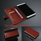 Slim Card Slots Stand Leather Wallet Protective Case Cover For Huawei Honor X2