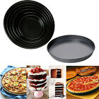 Multi Non-Stick Cake Round Dish Tray Pizza Pan Tins Kitchen Baking Cookware Tool