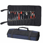 Plier Screwdriver Pocket Roll Carry Case 22 Pockets Pouch Repairing Tool Kit Bag