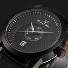 KS Imperial 5 Colours Mechanical Automatic Date Leather Mens Wrist Watch Gift