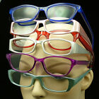 4 PAIR READING GLASSES MIX SHAPE COLOR PACK LOT POWER CLEAR LENS NEW STRENGTH