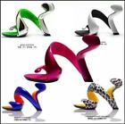 Sexy womens snake High Heels Abnormal Patent Leather Wedding Sandals Shoes size