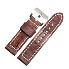 High Quality Ostrich Foot Leather 26 mm Watch Band Strap Fit (For) -Panerai-