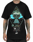 SULLEN CLOTHING USA FOR LYFE BLACK SURREAL ABSTRACT SKULL T SHIRT S M L XL 2XL