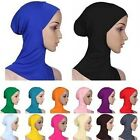 New Muslim Women Cotton Inner Hijab Caps Islamic Underscarf Hats Ninja Hijab