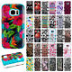 For Samsung Galaxy S7 IMPACT TUFF HYBRID Protector Case Skin Cover +Screen Guard