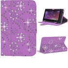 Universal Folding Folio Leather Flip Stand Case Cover For Android Tablet PC 7