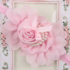 Cute Baby Infant Girl Toddler Chiffon Lace Flower Bow Headband Hair Band