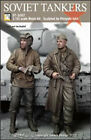 1/35 Scale WW2 Soviet tankers (2 figs) resin military model kit