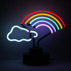 Neon Sign Table Lamp Party Light Retail Display Retro RAINBOW SCULPTURE Not LED
