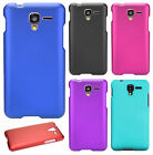 For Kyocera Hydro View Rubberized Hard Protector Case Phone Cover + Screen Guard