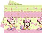 Disney Pink Blue Minnie Mouse Mickey Mouse Baby Shower Tableware Boys Girls