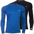 Soc Mens M R LS TOP SS091 Long Sleeve Polyester T-Shirt Casual TCS AIR Running
