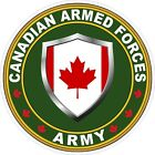 Canadian Army Decal / Sticker