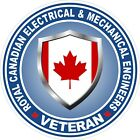 Royal Canadian Electrical & Mech Engineers RCEME Veteran Vet Decal / Sticker