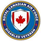 Royal Canadian Air Force RCAF Disabled Veteran Vet Decal / Sticker